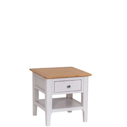 Newhaven Grey Painted Lamp Table